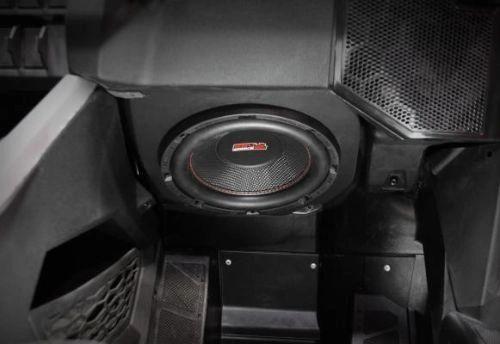 "2020 - 2021 Polaris RZR Pro XP Ride Command Under Dash Add-On Subwoofer Kit - Kicker 10"" Subwoofer - Kicker 500 Watt Mono Amp - Plug and Play"