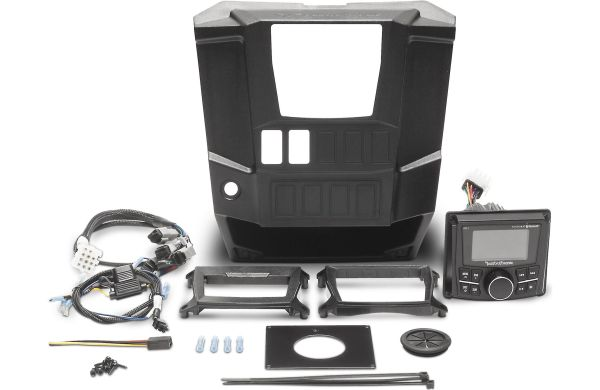 2013 - 2019 Polaris Ranger XP 900 / 1000 Rockford Fosgate RNGR PMX-1 STAGE1 Audio Kit - Exclusive Add-Ons and Upgrades Available