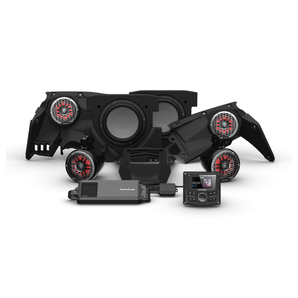 """COMING SOON"" - 2017 - 2021 Can Am X3 Rockford Fosgate X317 PMX-1 STG5 Audio Kit - Additional Upgrades Available"