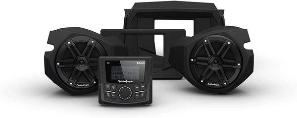 """Pre-Order"" - 2014 - 2021 Polaris RZR XP 900 / XP 1000 Rockford Fosgate RZR14-STG1 Stereo & Front Speaker Kit"