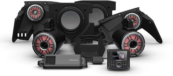 """COMING SOON"" - 2017 - 2021 Can Am X3 Rockford Fosgate X317 PMX-1 STG6 Audio Kit - Additional Upgrades Available"