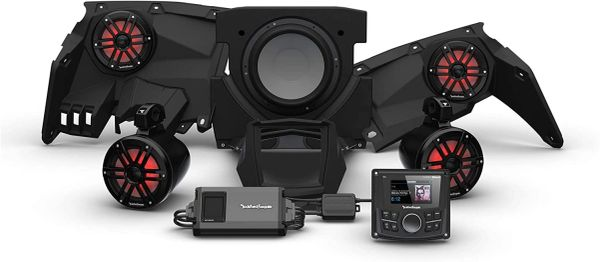 """COMING SOON"" - 2017 - 2021 Rockford Fosgate Can Am X317 PMX-1 STG4 Audio Kit - Additional Upgrades Available"