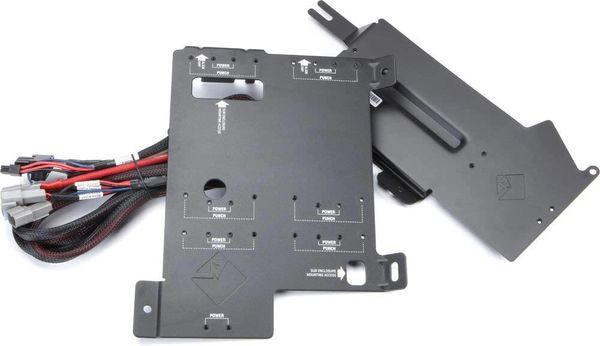 2014 - 2021 Polaris RZR Rockford Fosgate RFRZ14-K4D Dual amp kit and mounting plates