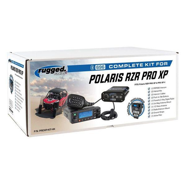 Rugged Radio Polaris RZR Pro XP Complete UTV Communication System