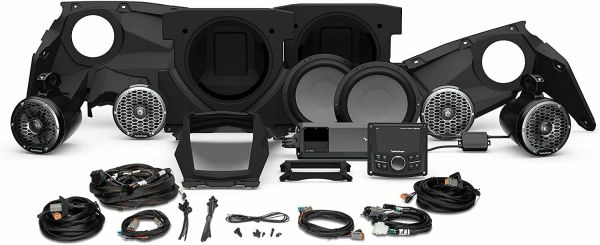 2017 - 2022 Can Am X3 Rockford Fosgate X317 PMX-1 STG5 Audio Kit - Additional Upgrades Available