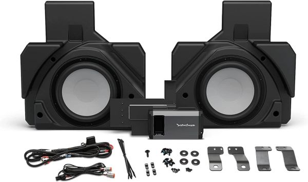 2017 - 2022 Can Am X3 Rockford Fosgate X317MAX-RSS Dual Rear Subwoofer and 1,000-Watt Amplifier Add-on Kit for Select Can-Am X3 MAX Models