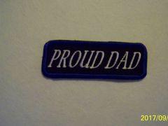 PROUD DAD (white/blue)