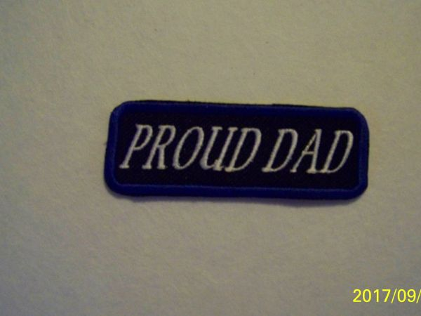 PROUD DAD (white/blue)