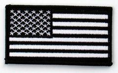 AMERICAN FLAG BLACK & WHITE (SMALL)