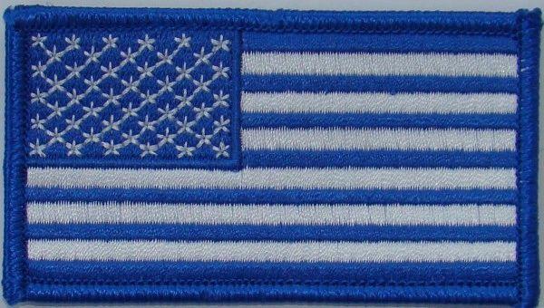 AMERICAN FLAG BLUE & WHITE (SMALL)