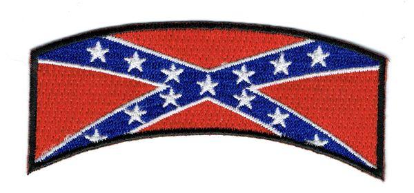 CONFEDERATE FLAG ROCKER (SMALL)