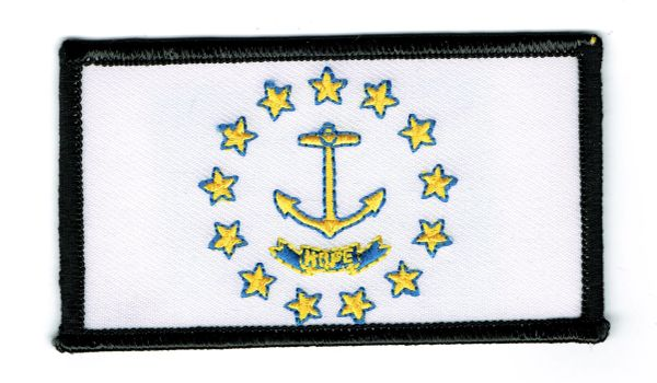 RHODE ISLAND STATE FLAG (SMALL)