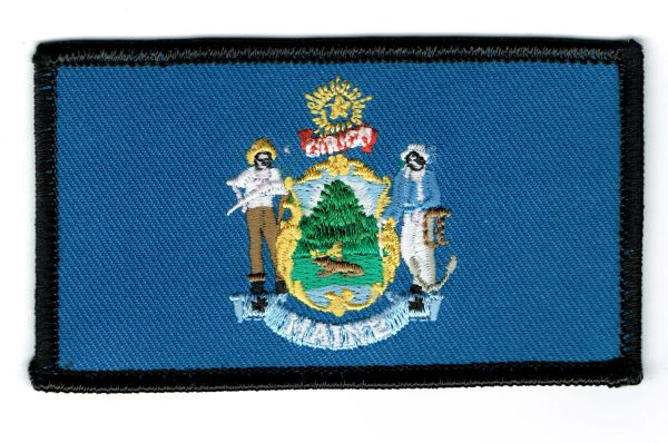 MAINE STATE FLAG (SMALL)