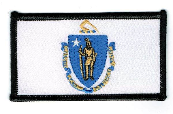 MASSACHUSETTS STATE FLAG (SMALL)