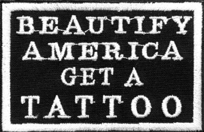 BEAUTIFY AMERICAN GET A TATTOO