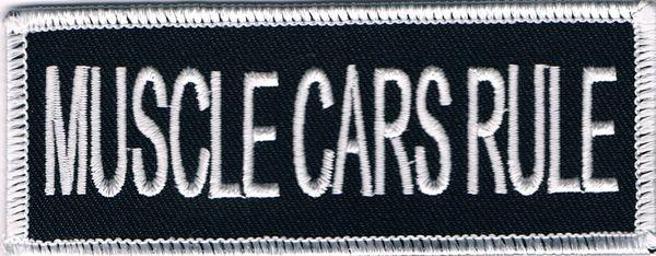 MUSCLE CARS RULE