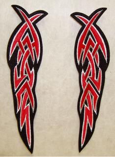 TRIBAL FEATHERS LARGE (PAIR)