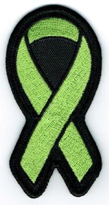 LIME GREEN RIBBON LYMPHOMA BLOOD CANCER AWARENESS
