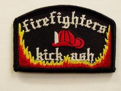 FIREFIGHTERS KICK ASH