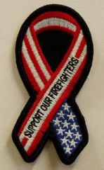SUPPORT OUR FIREFIGHTERS RIBBON