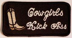 COWGIRLS KICK ASS