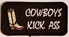COWBOYS KICK ASS