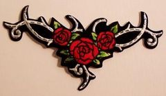 ROSES AND TRIBAL WITH STUDS LARGE