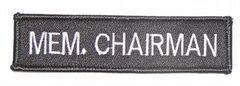 MEM. CHAIRMAN