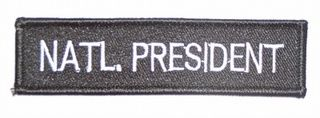 NATL. PRESIDENT