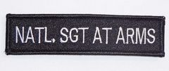 NATL. SGT AT ARMS