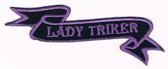 LADY TRIKER RIBBON PURPLE LARGE