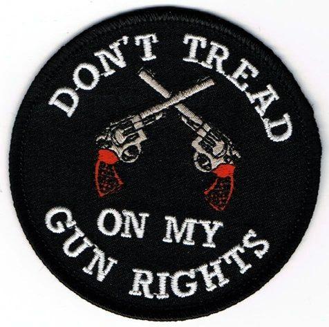 DON'T TREAD ON MY GUN RIGHTS (PISTOLS)