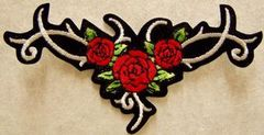 ROSES RED TRIBAL (LARGE)