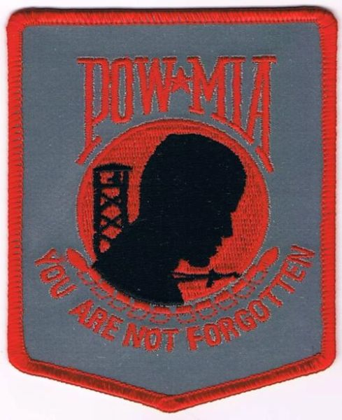 POW MIA - YOU ARE NOT FORGOTTEN (REFLECTIVE)