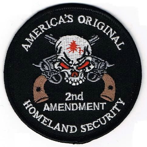 AMERICA'S ORIGINAL HOMELAND SECURITY - SKULL