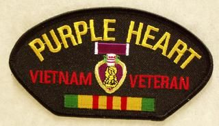 PURPLE HEART VIETNAM VETERAN