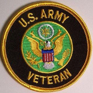 U.S. ARMY VETERAN W EMBLEM