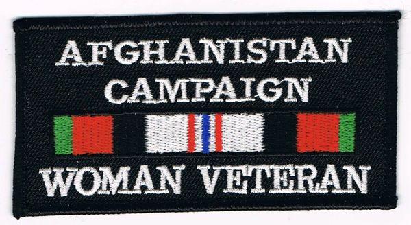 AFGHANISTAN CAMPAIGN WOMAN VETERAN