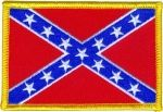 REBEL CONFEDERATE FLAG (MEDIUM)