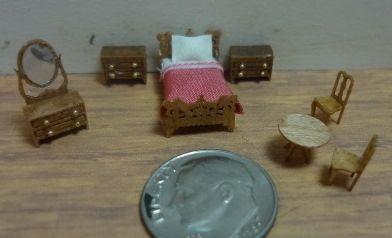 Micro Farmhouse Bedroom Furniture Kit