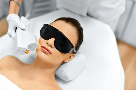 Managing skin conditions with intense pulsed light.