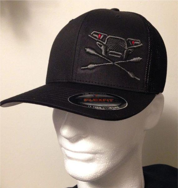 RZR Crossed Axles FlexFit Hat