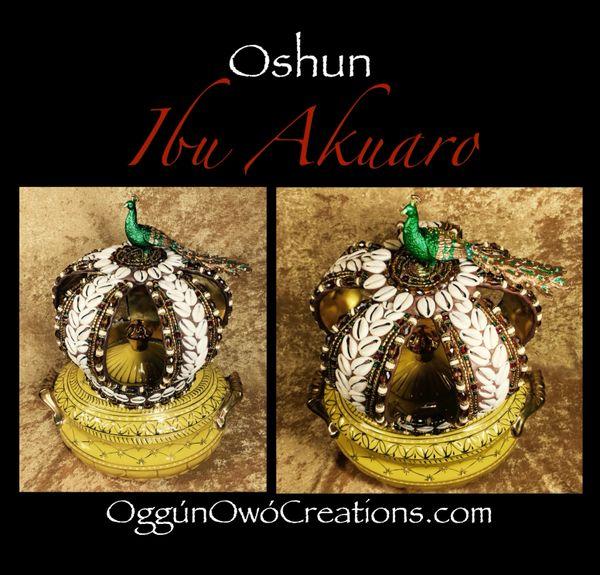 Crown for Oshun Ibu Akuaro