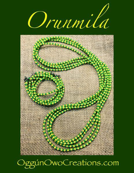 Orunmila ilde and Eleke set African Beads