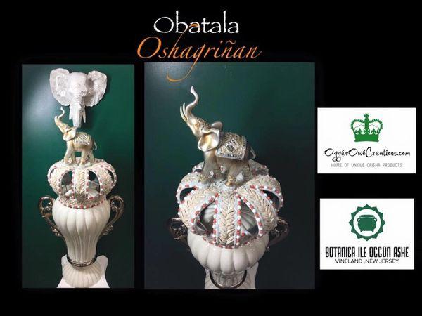 Crown for Obatala Oshagriñan
