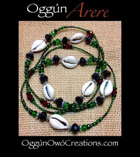 Eleke de Oggun Arere with Cowrie Shells