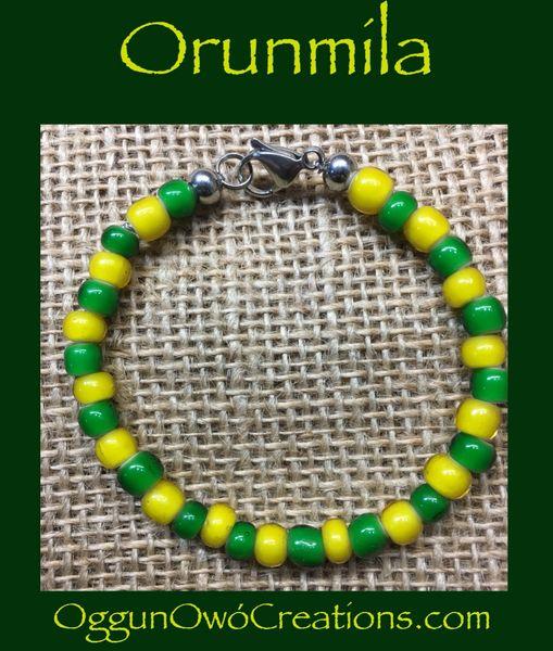 Ilde de Orunmila African beads