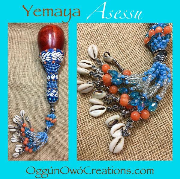 Ashere de Yemaya Assesu (maraca)