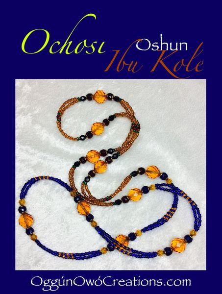 2strand eleke for Ochosi & Oshun Ibukole