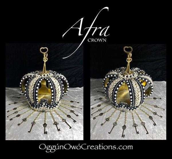 Large crown for Eleggua Afra